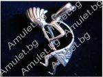 Kokopelli - Amulett für Fruchtbarkeit