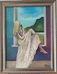 """Картина  """"Очакване"""" на Милена Найденова"""