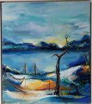 """Картина  """"В очакване"""" на Любима Бърдарова"""