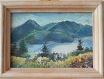 """Картина  """"Пейзаж от Швейцария"""" на Милена Найденова"""